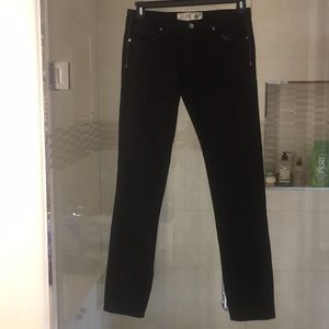 Pink vs black jeans sz 6R